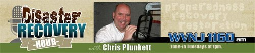 The Disaster Recovery Hour with Chris Plunkett