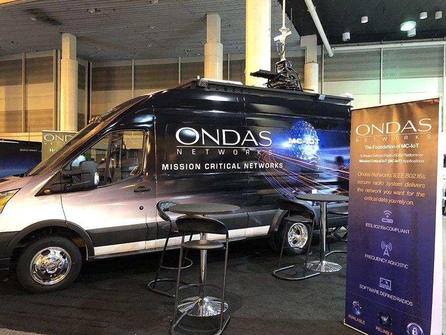 Ondas Networks Mobile Van